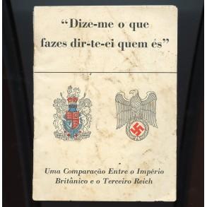 """Period book: """"Comparação entre o Império Britânico e o Terceiro Reich 1942"""""""