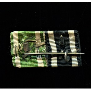 WW1 ribbon bar with iron cross 2nd class