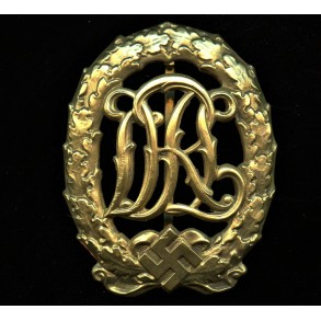 DRL sport badge in gold by Wernstein