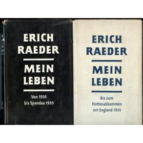 """Books: """"Mein Leben"""" by Admiral Erich Raeder"""
