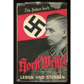 """Period book: """"Leven und Sterben, Horst Wessel"""" 1932"""