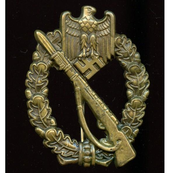 Infantry assault badge in bronze by Schauerte & Höhfeld