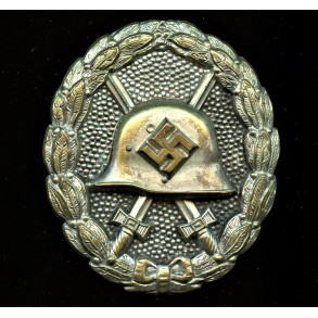 Wound badge in silver, early 1st pattern