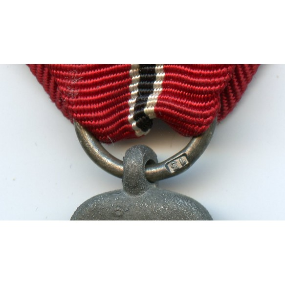 """East front medal by G. Brehmer """"13"""""""