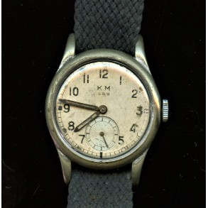 "Kriegsmarine Alpina KM 586 German military watch ""Dienstuhr"""