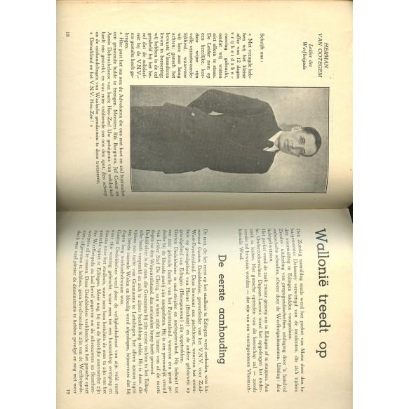 "Period VNV brochure ""Edingen Onze grond"" 1939"
