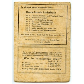 Early DJ Jugend song book