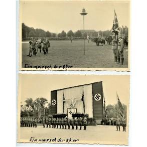 2 private photos Infanterie Regiment 87, Mainz, Nov. 1940