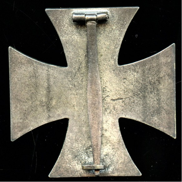 Iron cross 1st class by Otto Schickle