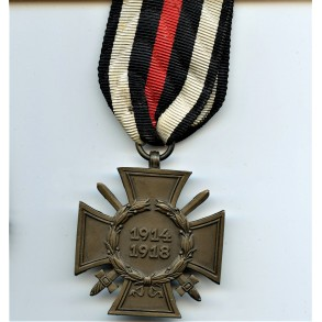 "1914-1918 Honour cross with swords by ""G&S"""