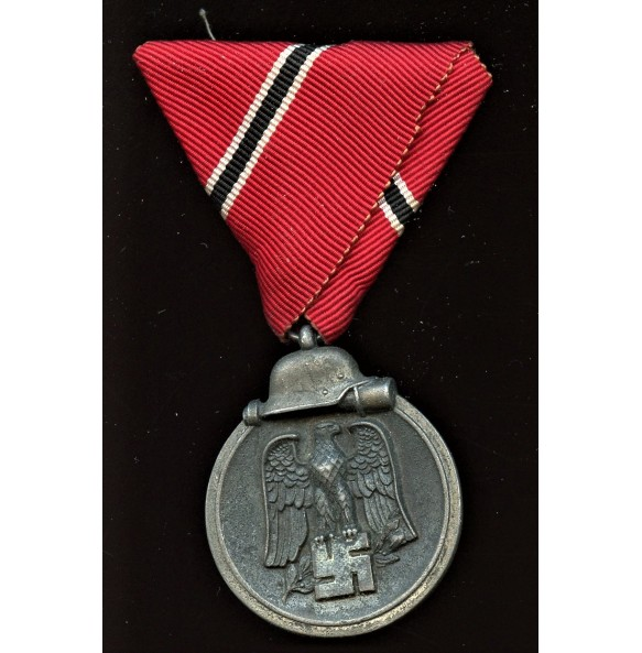 """East front medal with Austrian mount """"25"""""""
