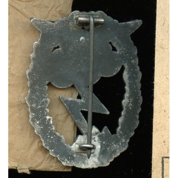 Luftwaffe ground assault badge by J.C. Hammer + package
