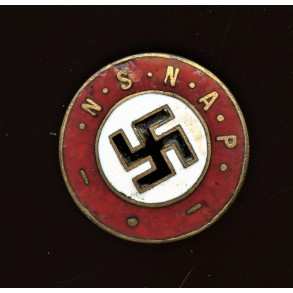 "Dutch party pin ""NSDAP"""