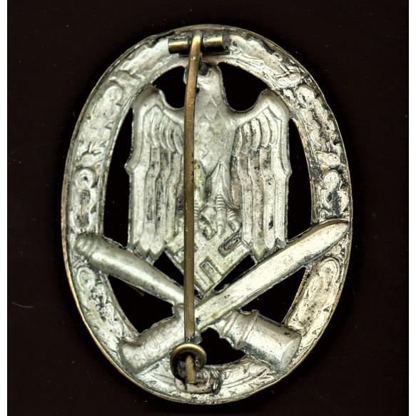 General Assault Badge in silver by Rudolf Karneth