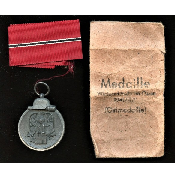 """East front medal by G. Brehmer """"13"""" + package"""