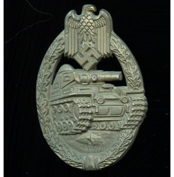 Panzer assault badge in bronze by E. Ferd. Wiedmann