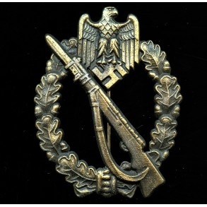 "Infantry Assault Badge in Bronze by Josef Feix & Söhne ""JFS"""