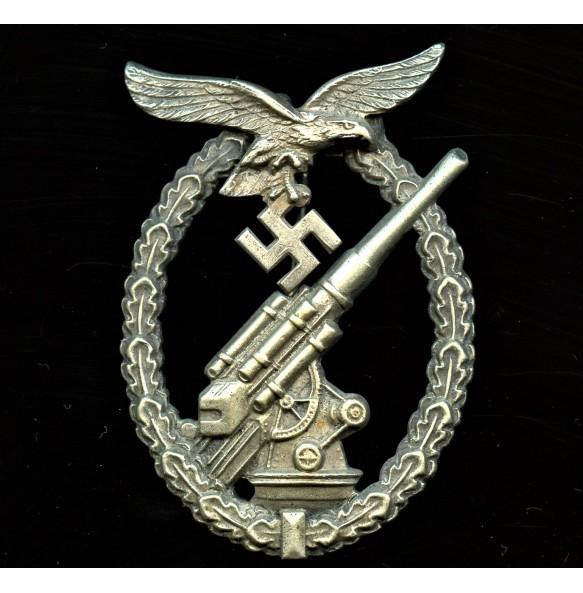 Luftwaffe flak badge by C.E. Juncker