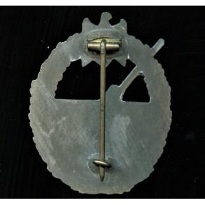 Kriegsmarine coastal artillery badge by Steinhauer & Lück