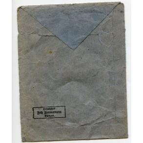 Iron cross 2nd class package by F. Zimmermann