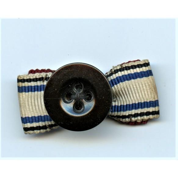 Iron cross clasp 2nd class miniature ribbon button