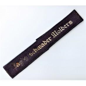 """Luftwaffe armband """"Jagdgeschwader Mölders"""""""