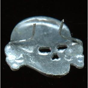 SS visor cap skull