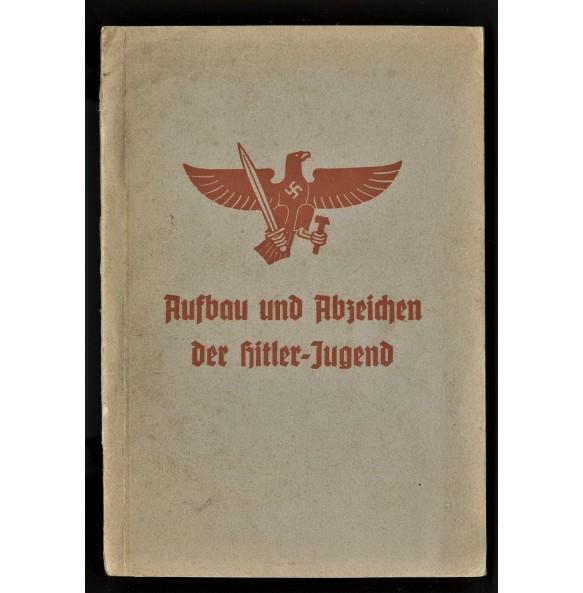 """HJ book """"Aufbau und Abzeichen der HJ"""""""