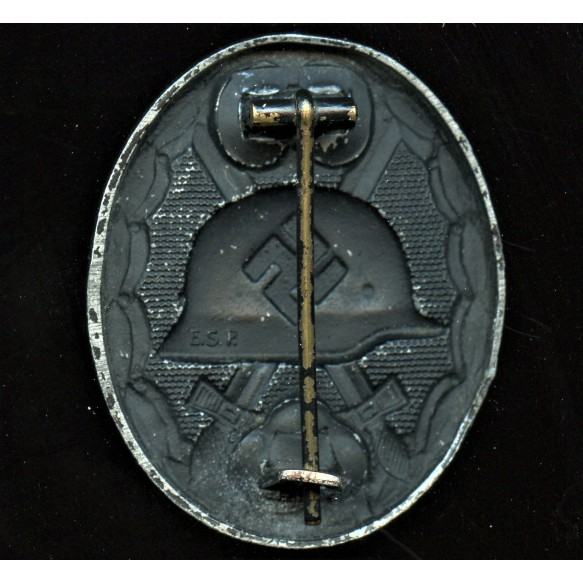 "Wound badge in black by Eugen Schmidthaussler ""E.S.P."""