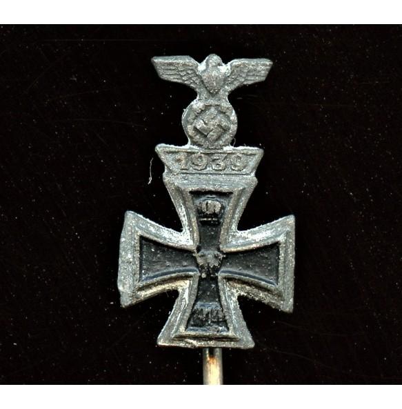 Iron cross 2nd class combo clasp miniature