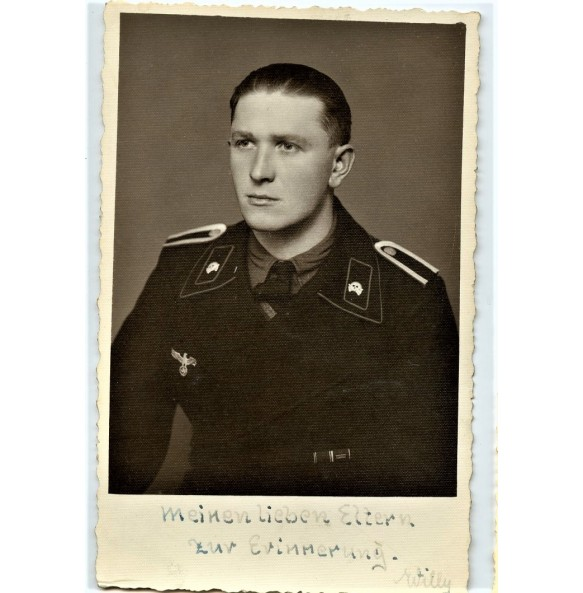 Portrait panzer NCO with annexation medals