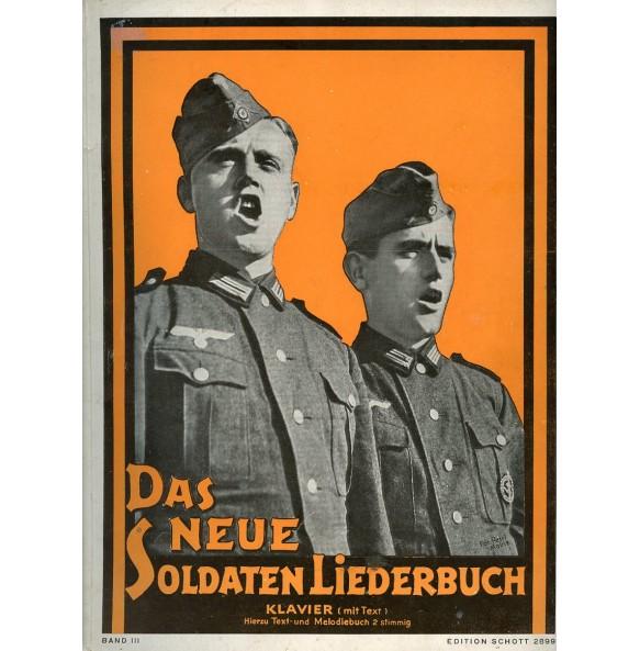"""Period Wehrmacht song book: """"Das neue Soldaten Liederbuch"""" Band III"""