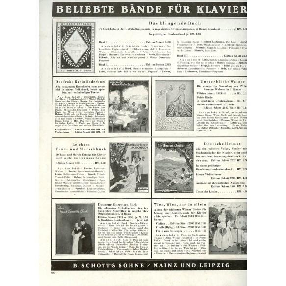"""Period Wehrmacht song book: """"Das neue Soldaten Liederbuch"""" Band II"""