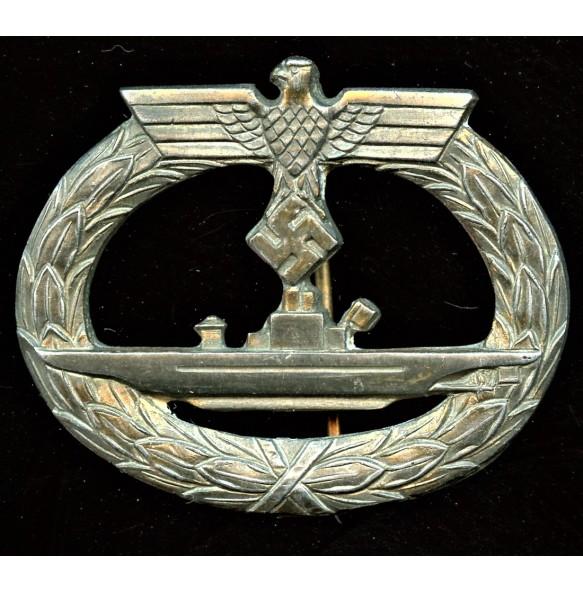 Kriegsmarine U-boat badge by A. Rettemaier