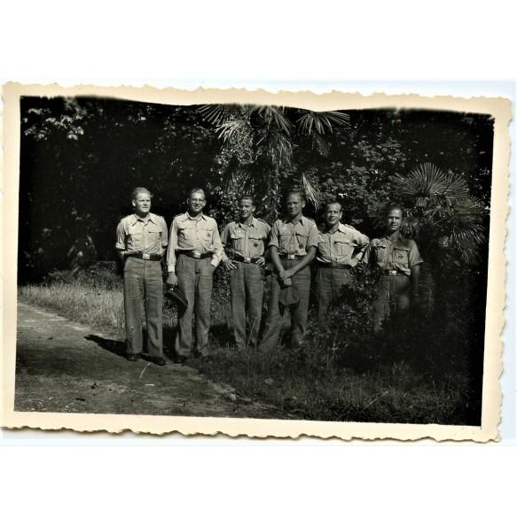 Private photo group tropical Luftwaffe EK1 recipients