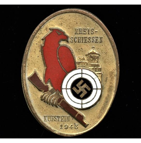Sharp shooting Kreisschiessen Kufstein 1943 badge by C. Poellath