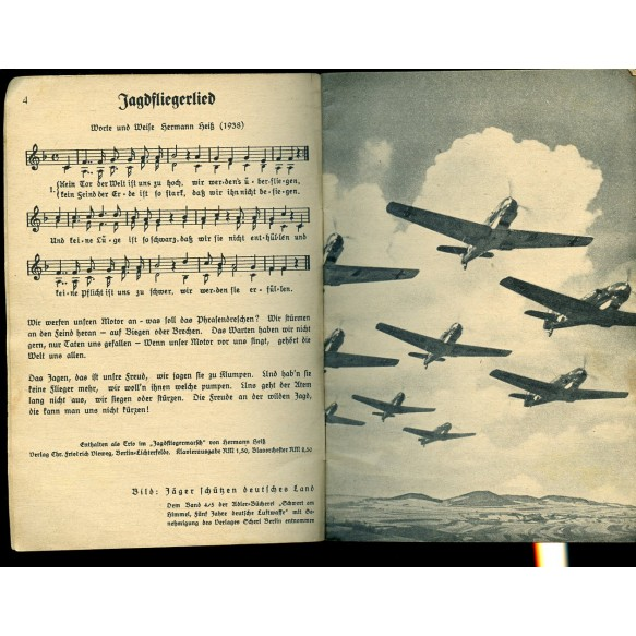 "Period song book: ""Liederbuches der Luftwaffe"""