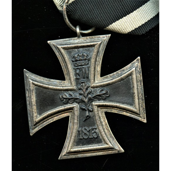 1914 Iron cross 2nd class combo with clasp by A. Rettenmaier