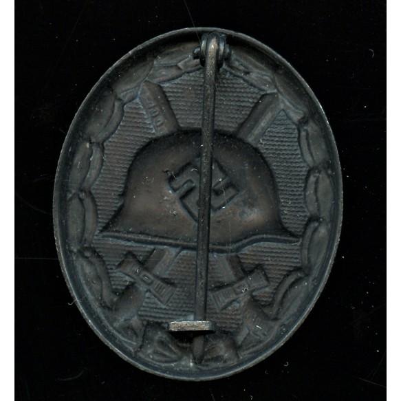 Wound badge in black by Rudolf Wächtler & Lange