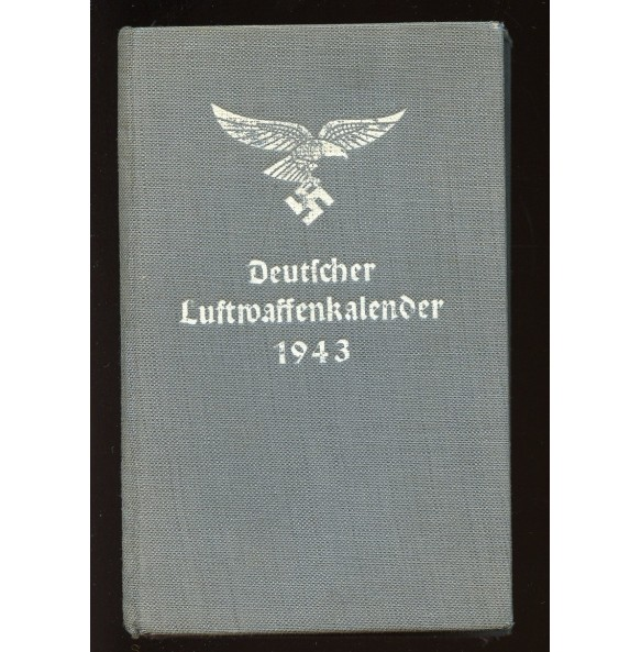 Luftwaffe pocket calendar 1943
