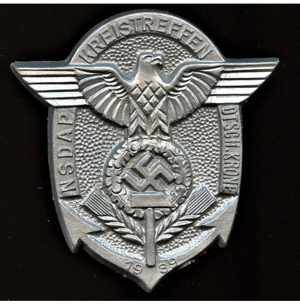 """Tinnie """"NSDAP Kreistreffen Otsch.Krone 1939"""""""