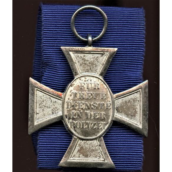 Polizei 18 year service medal