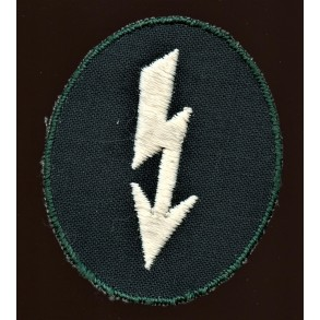 "Arm patch signal troops, canvas for ""Windjacke"""