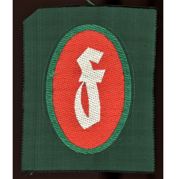 SHD (Luftschutz) fire fighter Bevo patch