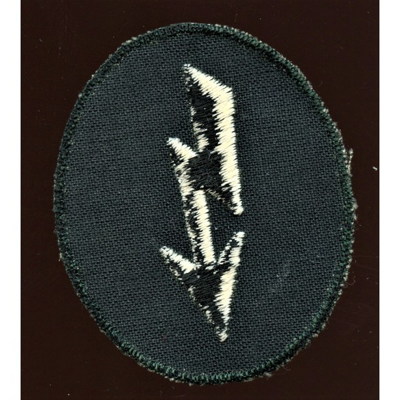 """Arm patch signal troops, canvas for """"Windjacke"""""""