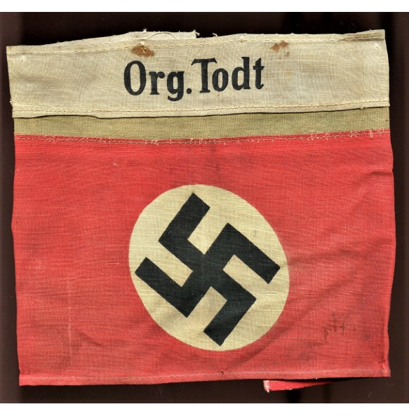Org. Todt double armband