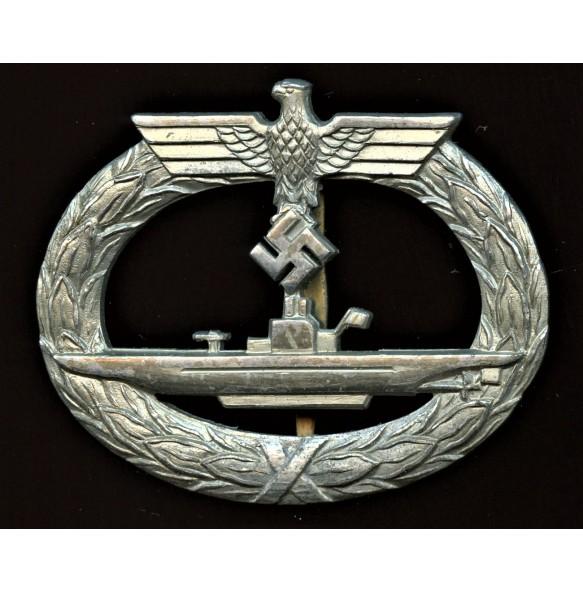 Kriegsmarine U-boat badge by Otto Schickle