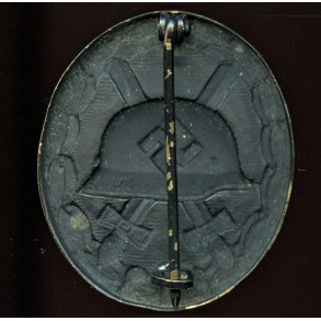 """Wound badge in black by Steinhauer & Lück """"L/16"""""""