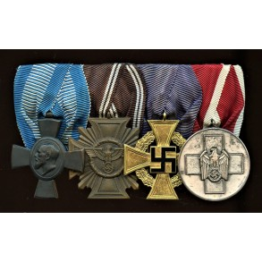 4 place NSDAP/ Welfare medar bar
