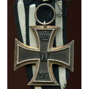 "WW1 Iron cross 2nd class by unknown maker ""Z"""